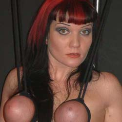 Red hot boobs  i really enjoy a sweet tit torture session with my favorite firey slave   her boobs are just too heavy to resist. I really enjoy a pretty tit anguished session with my favorite firey slave.  Her boobs are just too violent to resist.