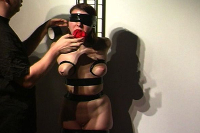 Special preparations 56  this slut is made to remove all of her clothes so she can be bound with this black tape. This slut is made to remove all of her clothes so she can be bound with this black tape